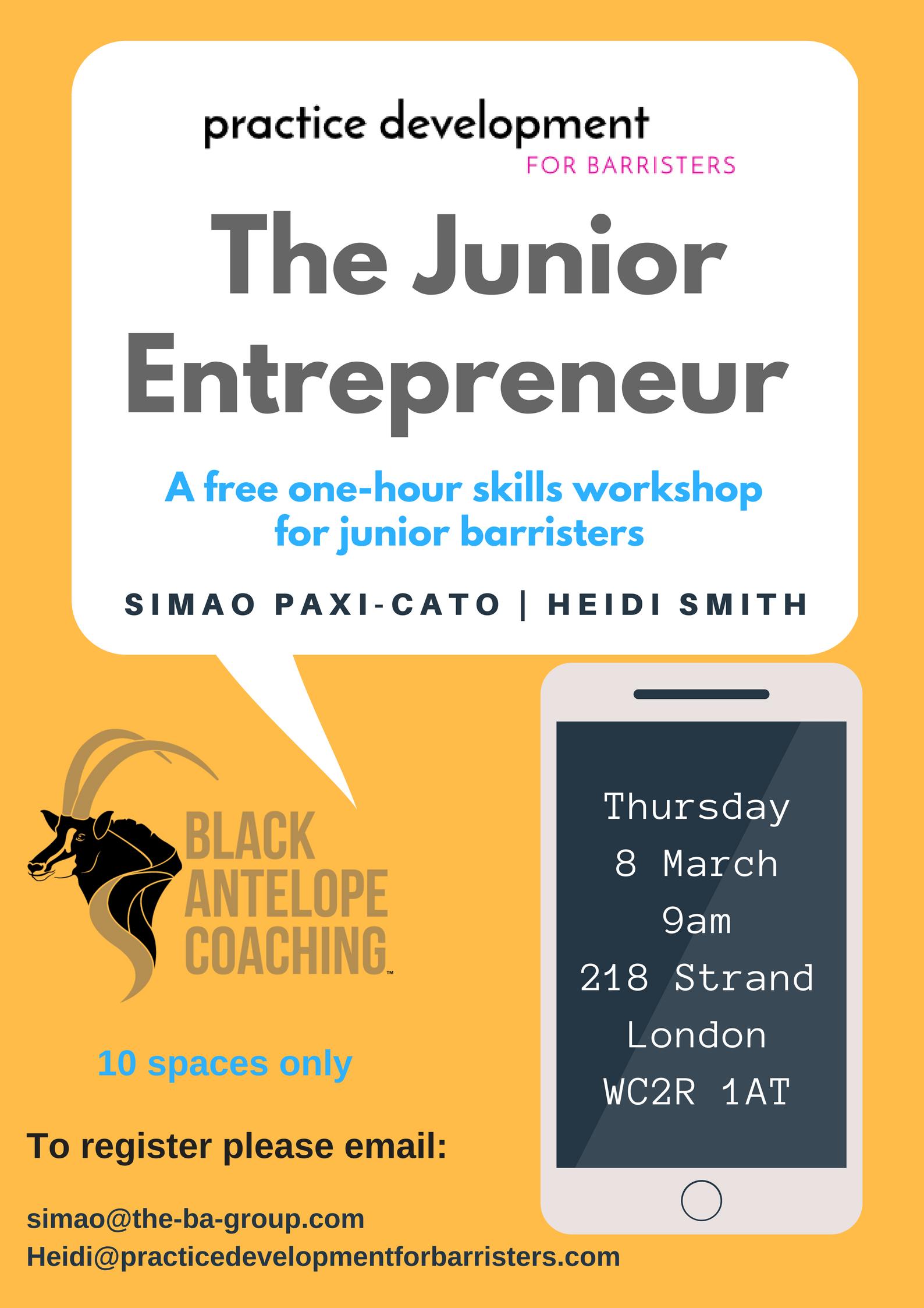 JE Workshop Poster