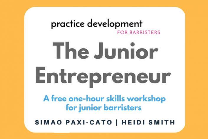 The Junior Entrepreneur - Black Antelope Coaching