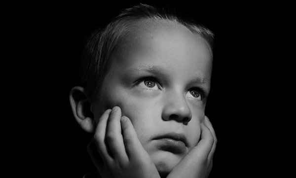 Sad Child Affected By Family Court Proceedings