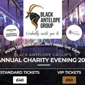 Annual Charity Event Tickets